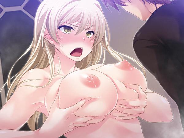 女になってしまった男が胸を触りマンコを確認し、試しに男とセックスをしてどんな感じかやってみたw