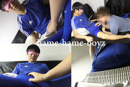 部活帰りの巨根イケメンサッカー部(21歳)めっちゃ溜まりまくりで先輩にフェラされにきました