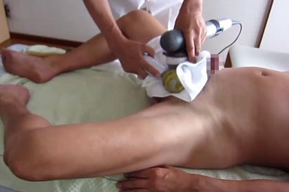 ED治療で射精しちゃう動画