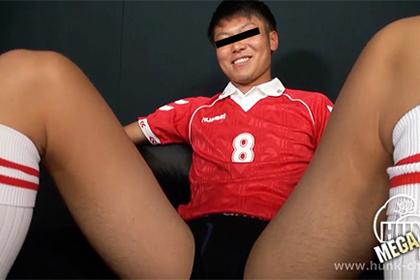 185cm72kg19才大学生、サッカー部の健三