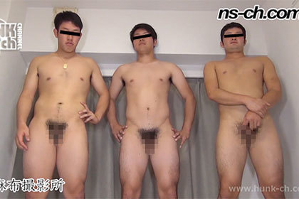 20歳体育会男子175cm86kg・180cm80kg・174cm78kg