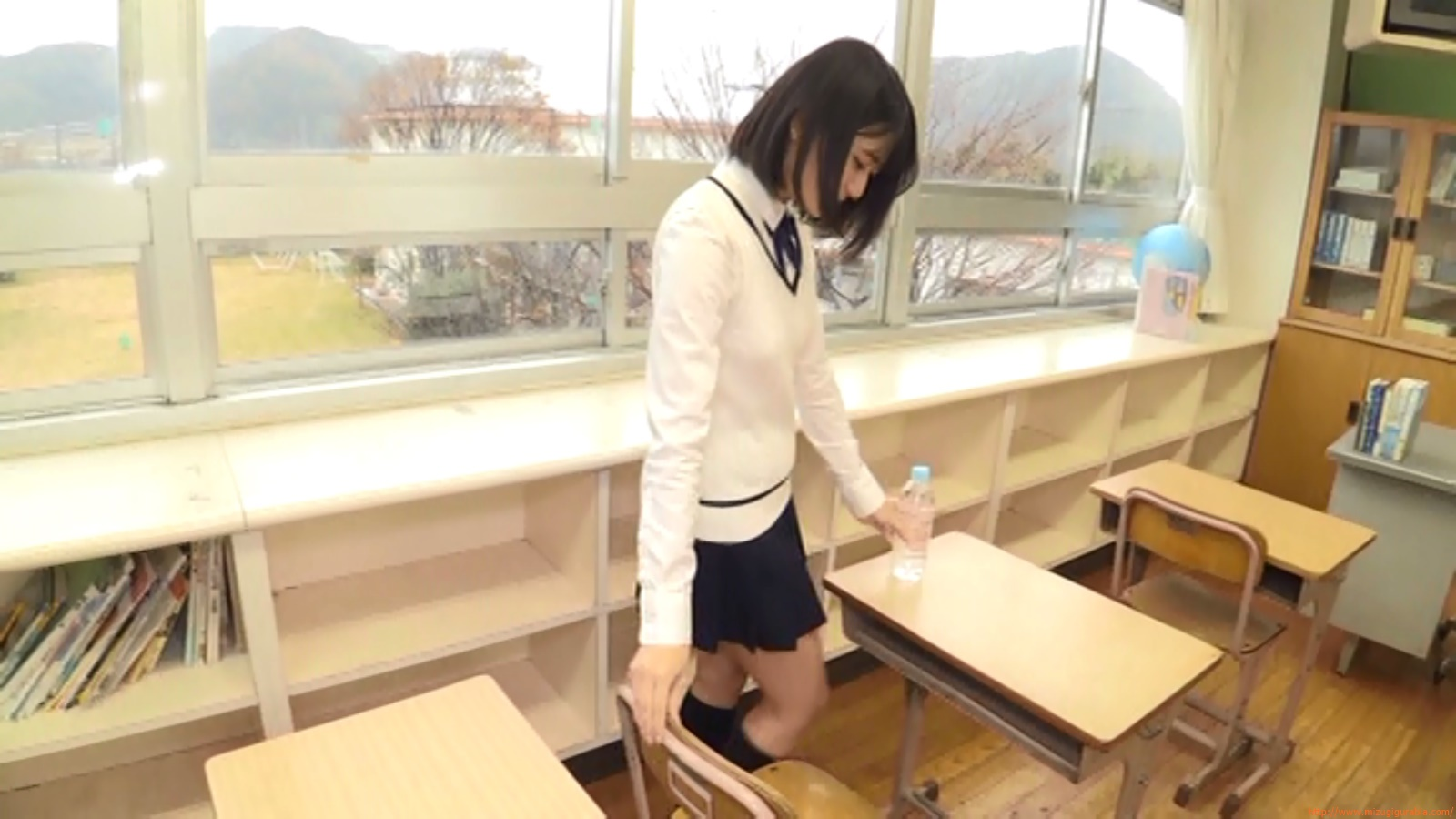 Two-person classroom095