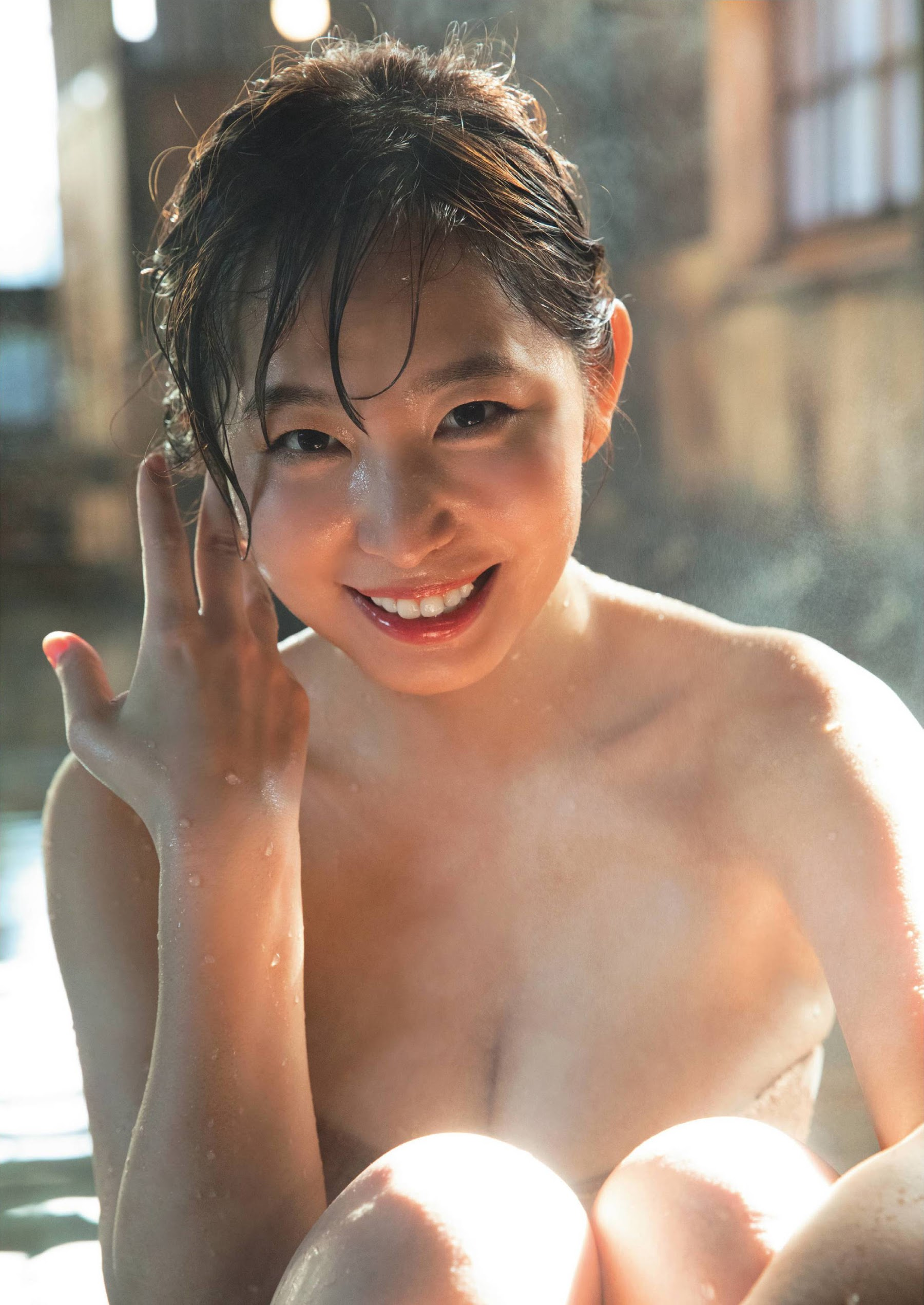 A secret hot spring trip with a beautiful anchor 009