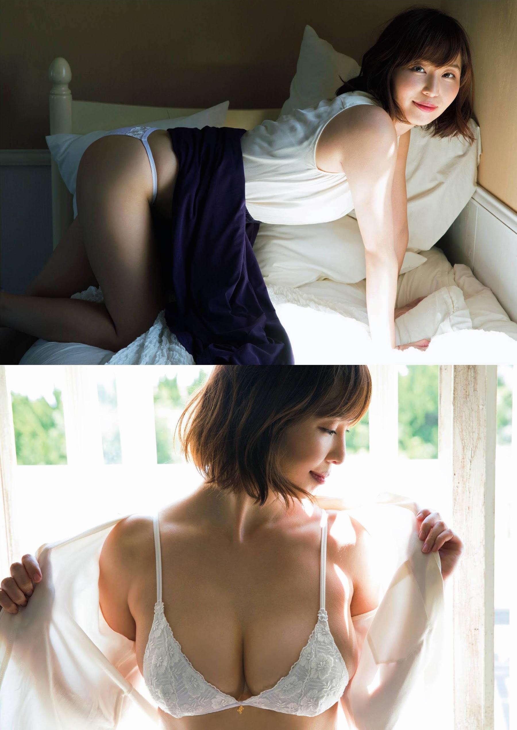 Misumi Shiochi, a female announcer in her underwear005