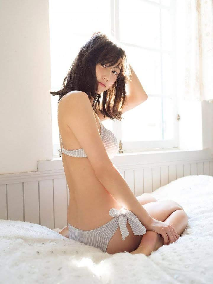 The latest mole beauty is a 25-year-old loose and fluffy angel, non-no exclusive model Yuna Suzuki001