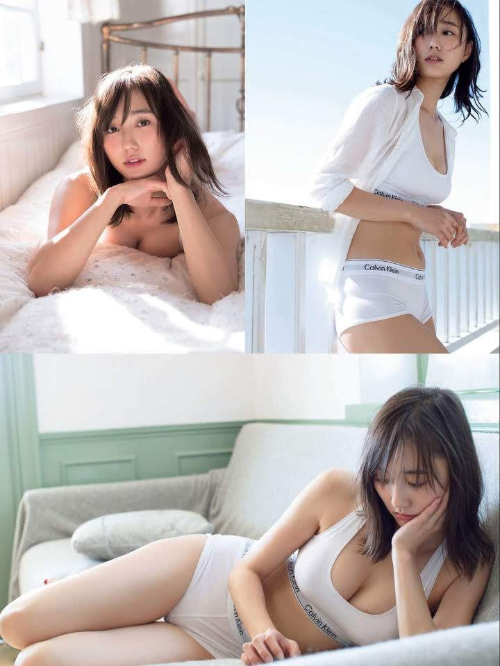 The latest mole beauty is a 25-year-old loose and fluffy angel, non-no exclusive model Yuna Suzuki006