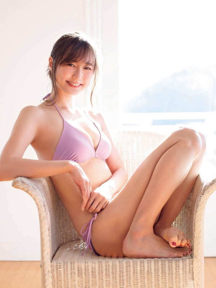 The latest mole beauty is a 25-year-old loose and fluffy angel, non-no exclusive model Yuna Suzuki007