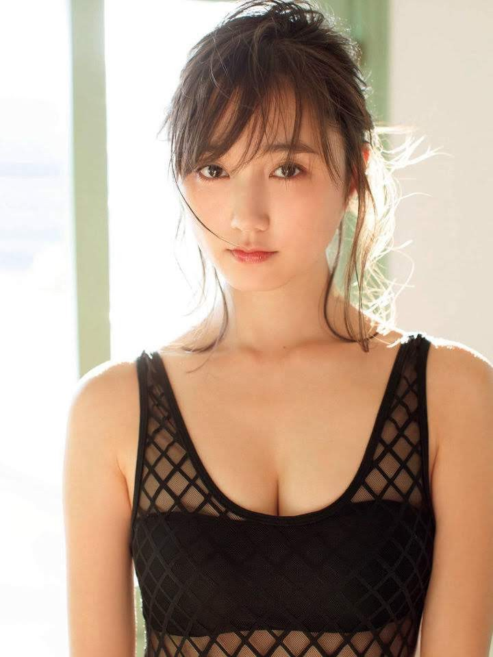 The latest mole beauty is a 25-year-old loose and fluffy angel, non-no exclusive model Yuna Suzuki009