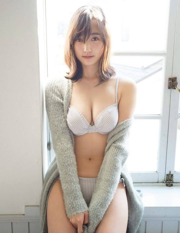The latest mole beauty is a 25-year-old loose and fluffy angel, non-no exclusive model Yuna Suzuki011