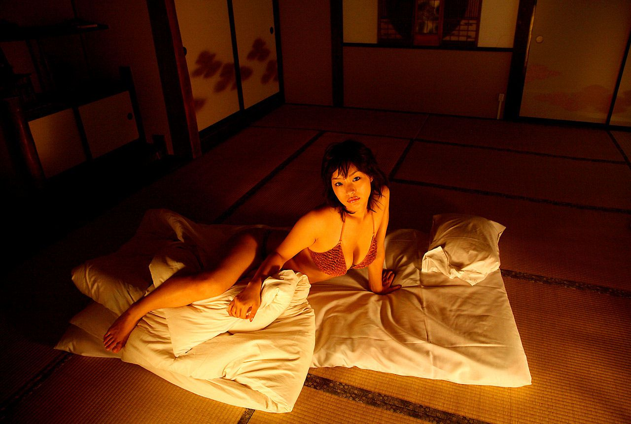 Lush breasts spilling out from a small cloth that hides a fiery passion Wasa Sato025