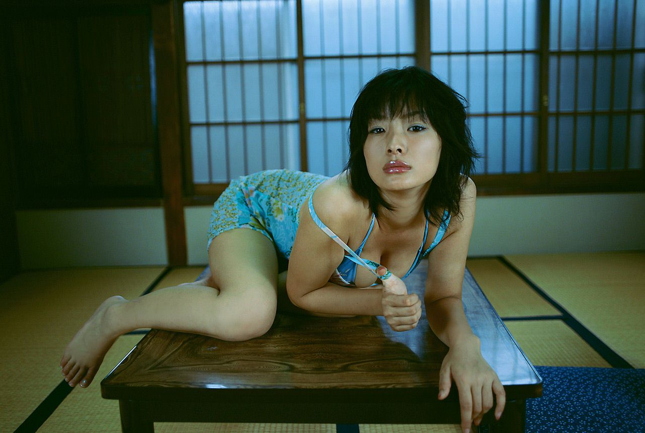 Lush breasts spilling out from a small cloth that hides a fiery passion Wasa Sato044