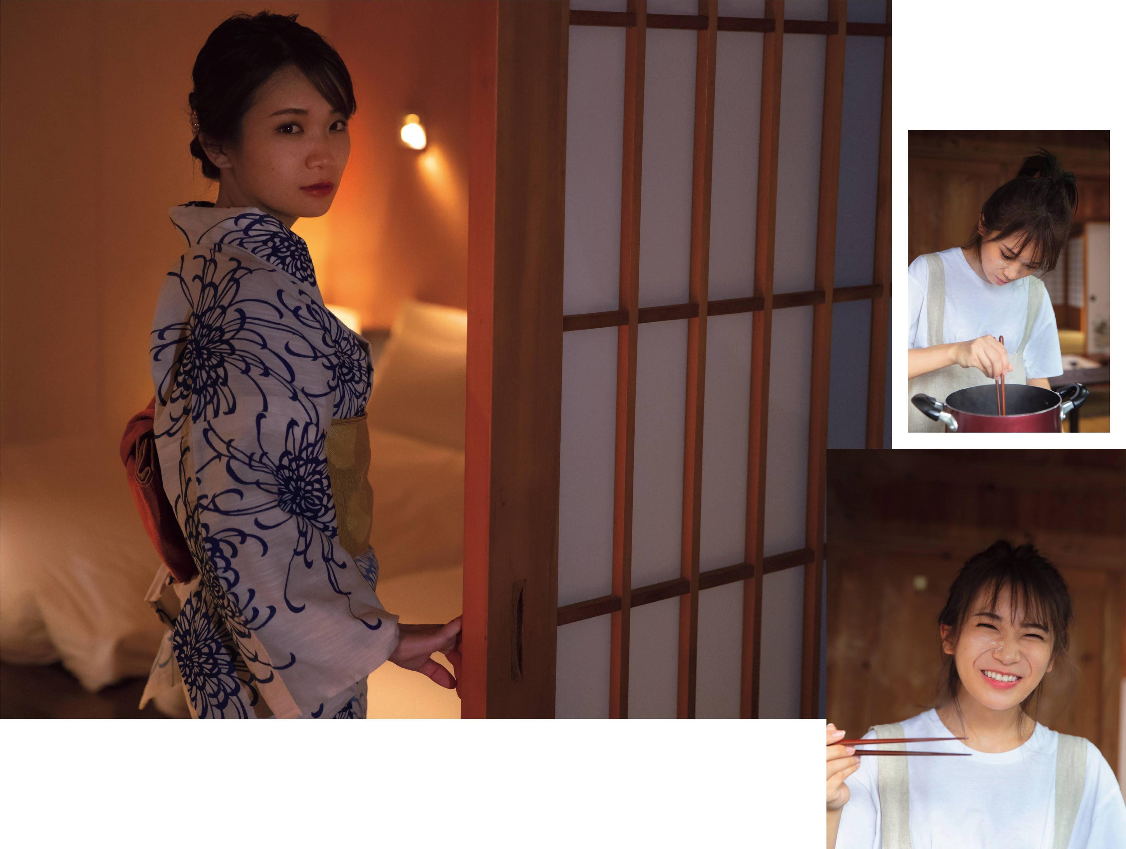 Nogizaka46 captain, ale to everyone! Manatsu Akimoto Lingerie002