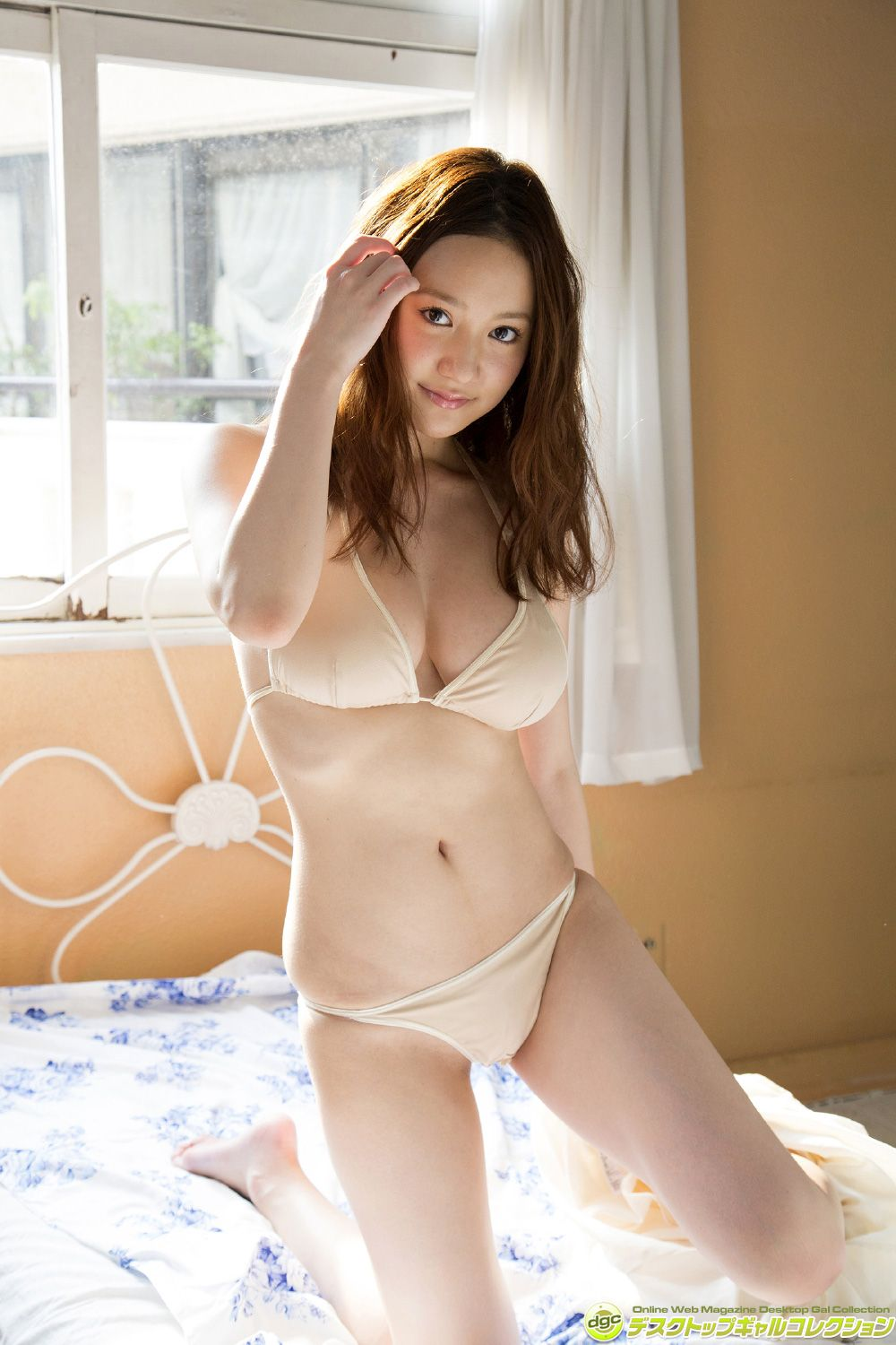 She has beautiful white, clear skin and marshmallow G cups019