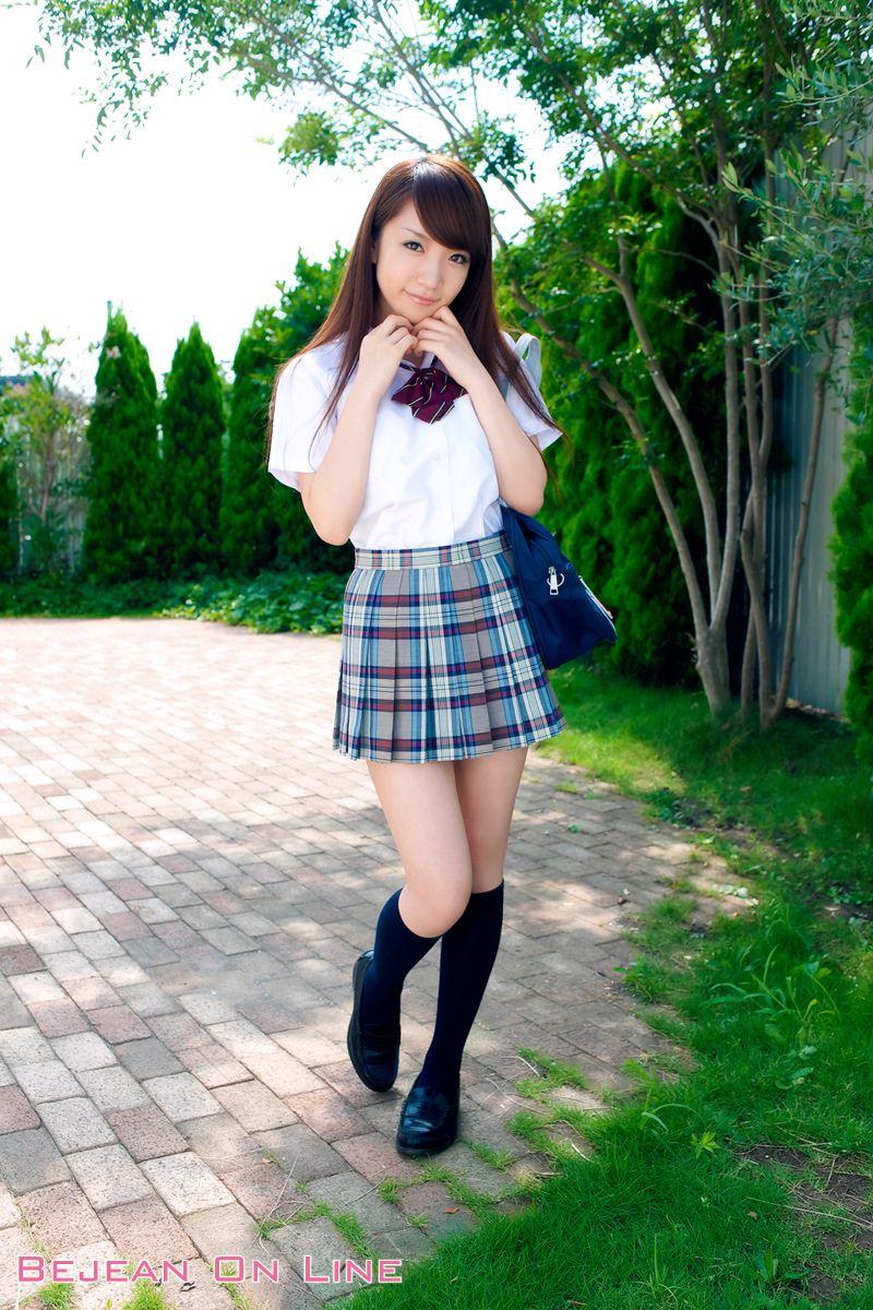 Bishojo Gakuen Shimizu Airi School Uniform Bloomers Swimsuit Competition Image001