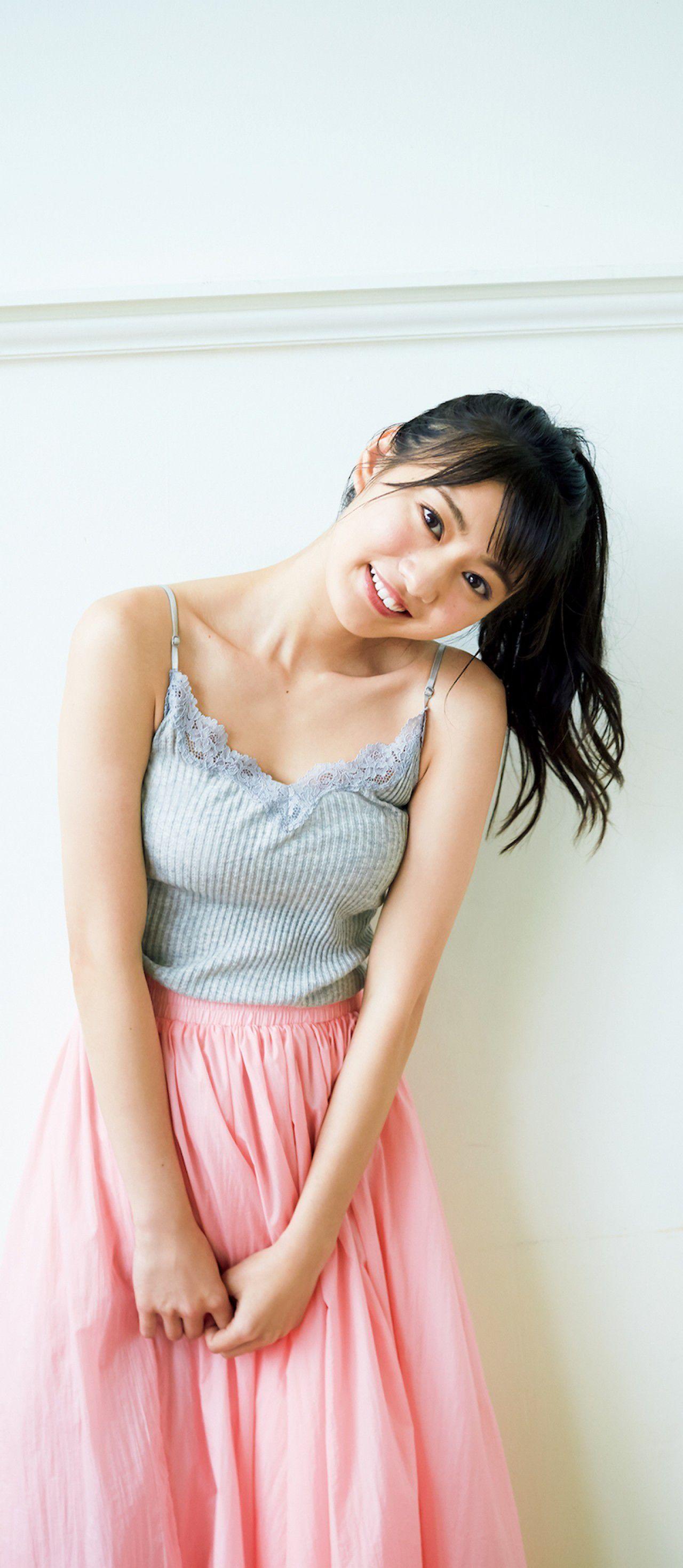 Yasuko Koga, a pure and innocent girl from The Last Idol003