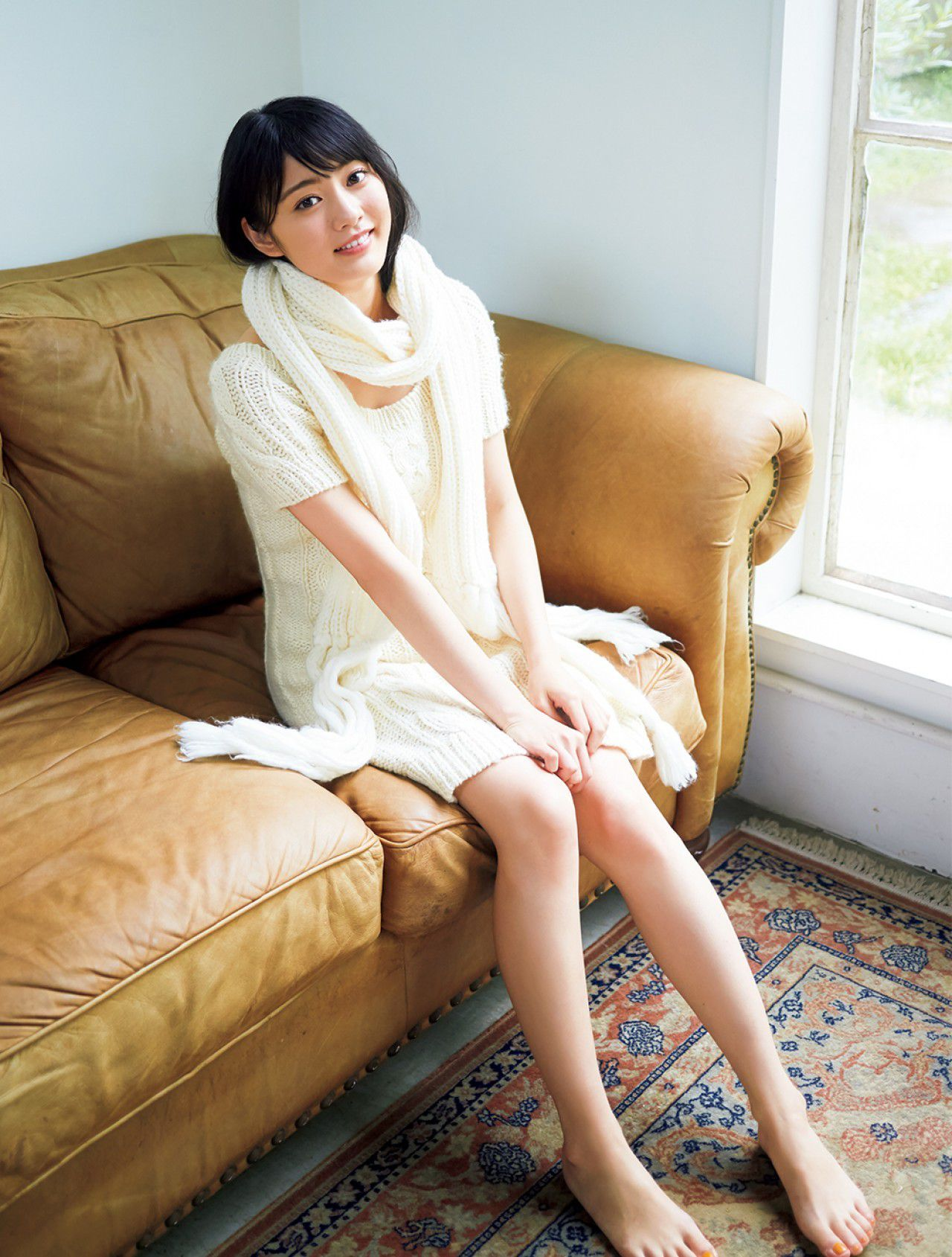 Yasuko Koga, a pure and innocent girl from The Last Idol004