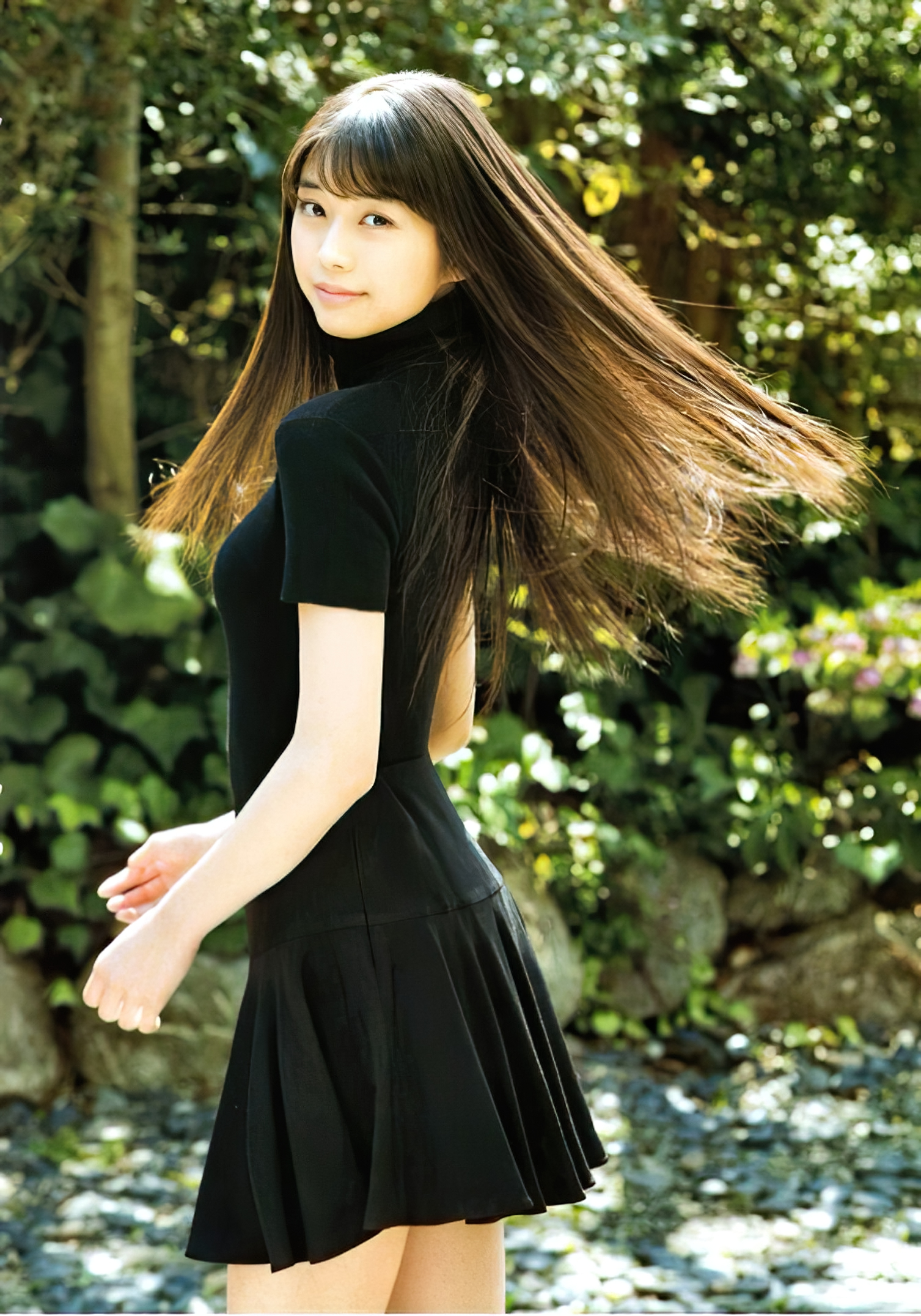 One beautiful girl She is 17 years old and a senior in high school MARIE MAKINO011