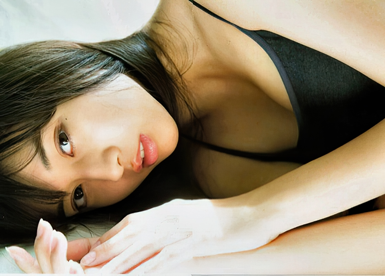 One beautiful girl She is 17 years old and a senior in high school MARIE MAKINO085