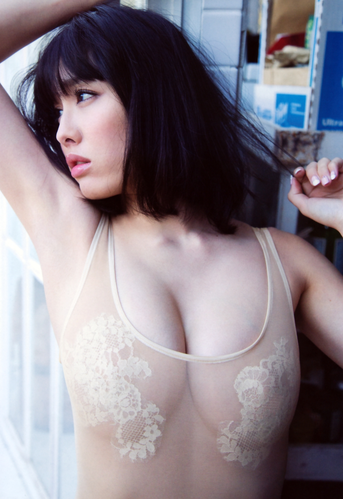 Its soft and makes you want to touch it Anna Konno 030