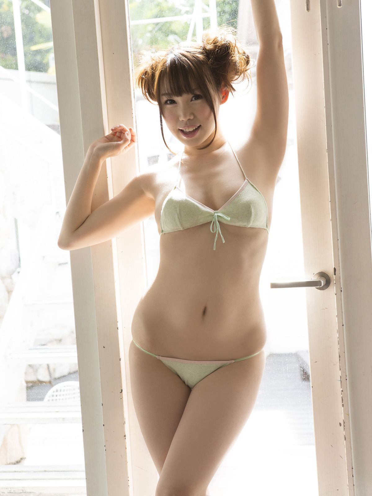Mai Tsukamoto is naturally energized by the ample G breast021