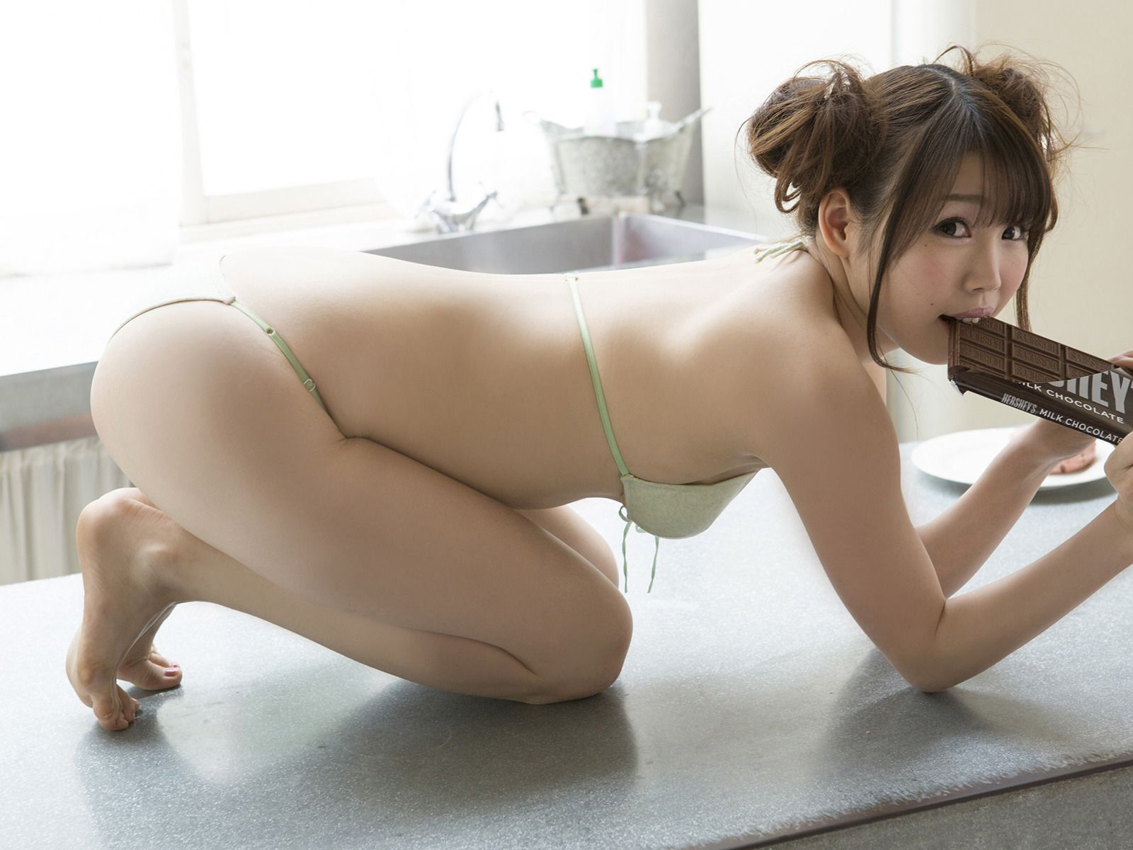 Mai Tsukamoto is naturally energized by the ample G breast028