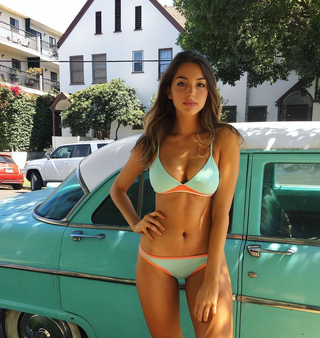 Too beautiful American model Celine Farrakhan017