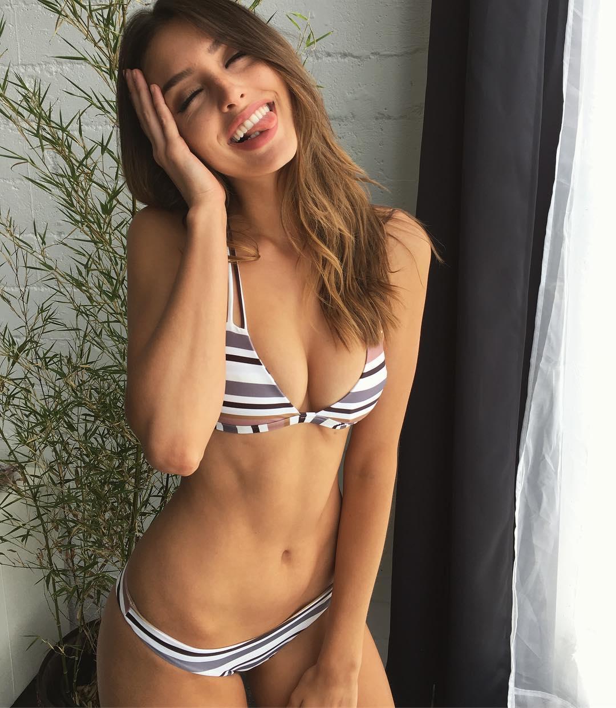 Too beautiful American model Celine Farrakhan018