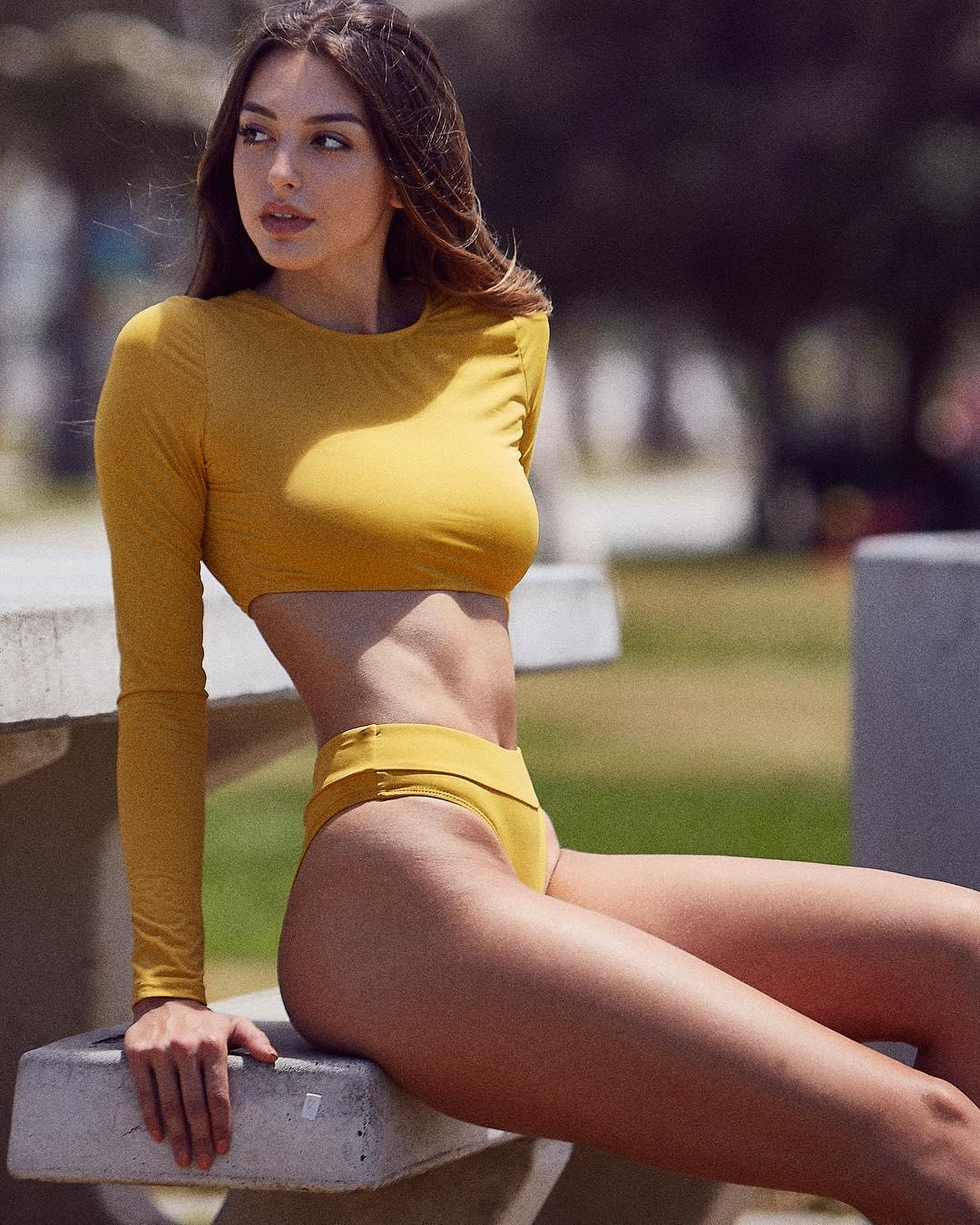 Too beautiful American model Celine Farrakhan021