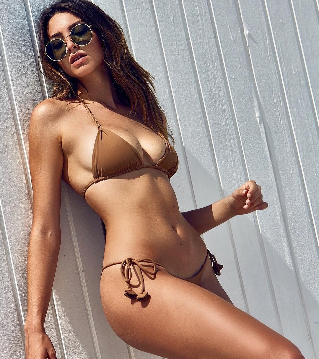 Too beautiful American model Celine Farrakhan024