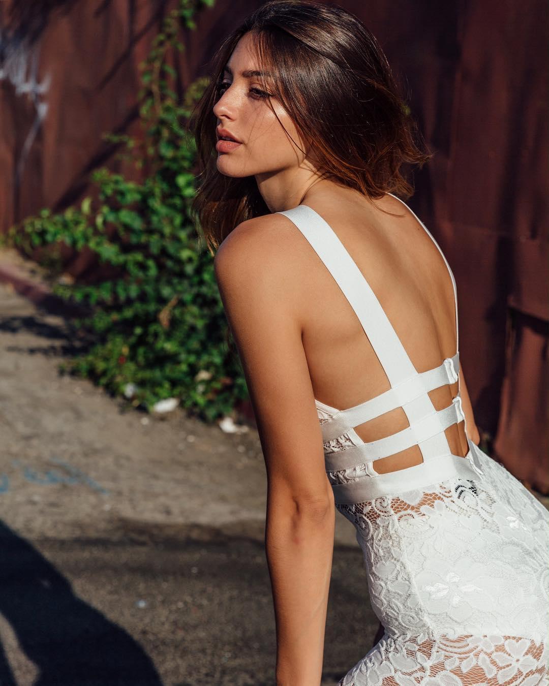 Too beautiful American model Celine Farrakhan028