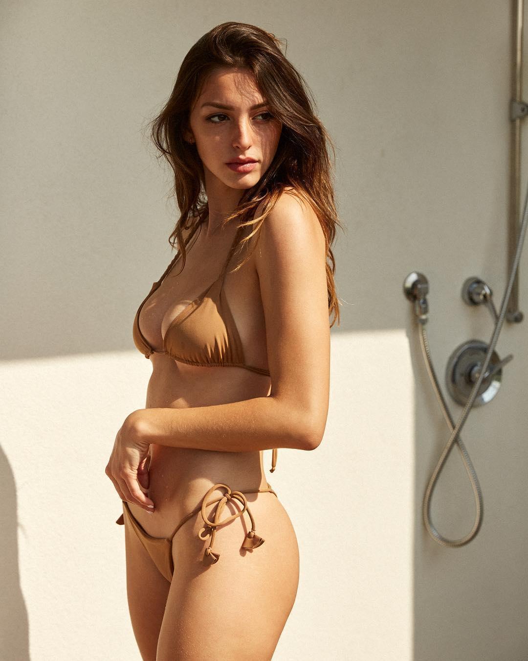 Too beautiful American model Celine Farrakhan033