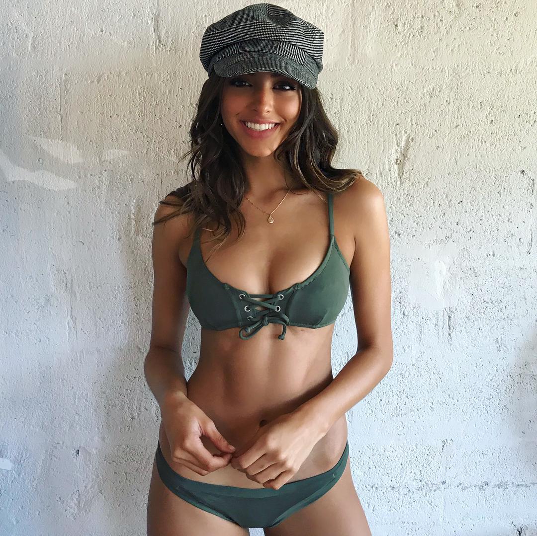 Too beautiful American model Celine Farrakhan041