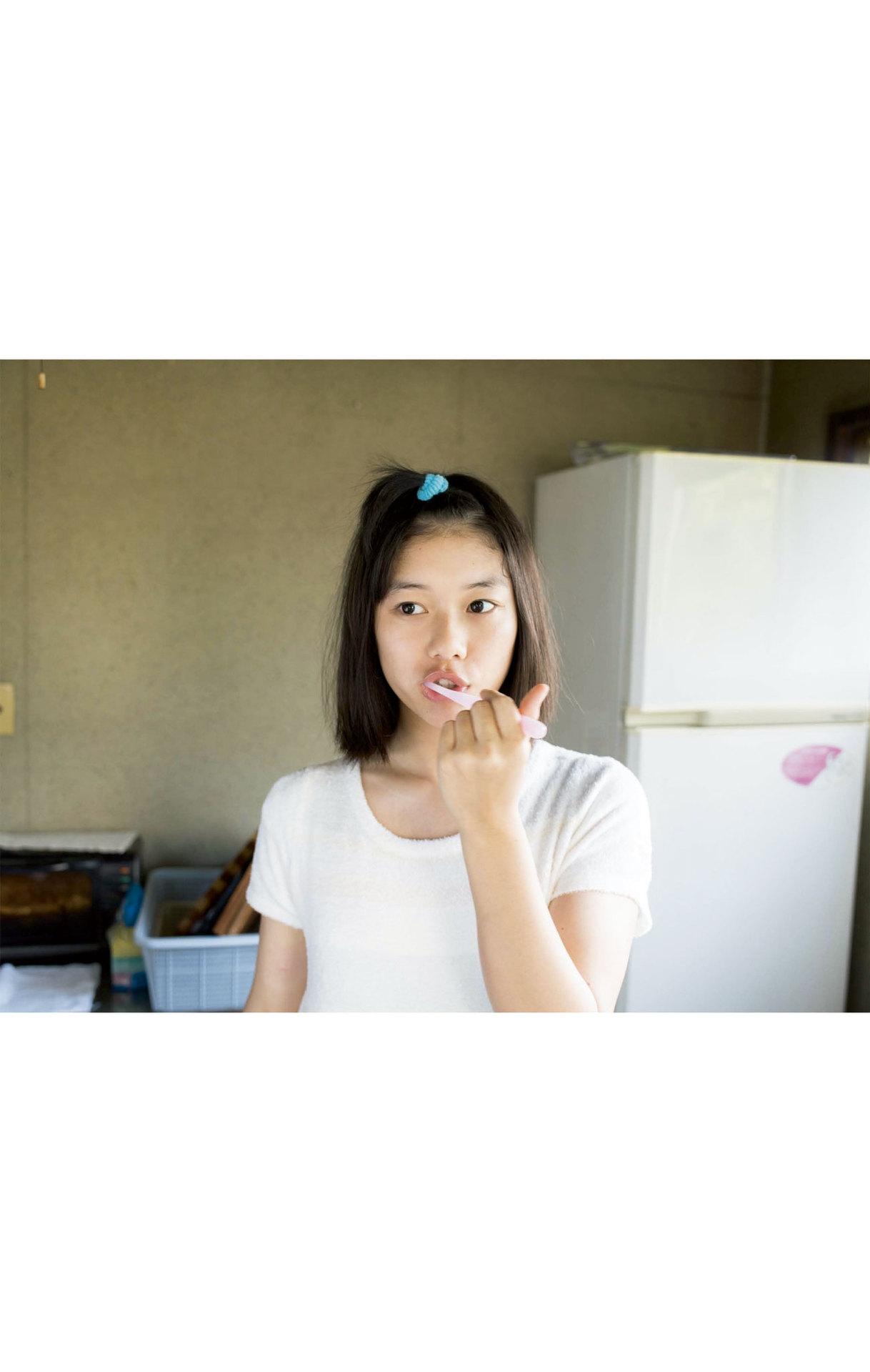 Summer Vacation Uniform After School Youth Bikini011