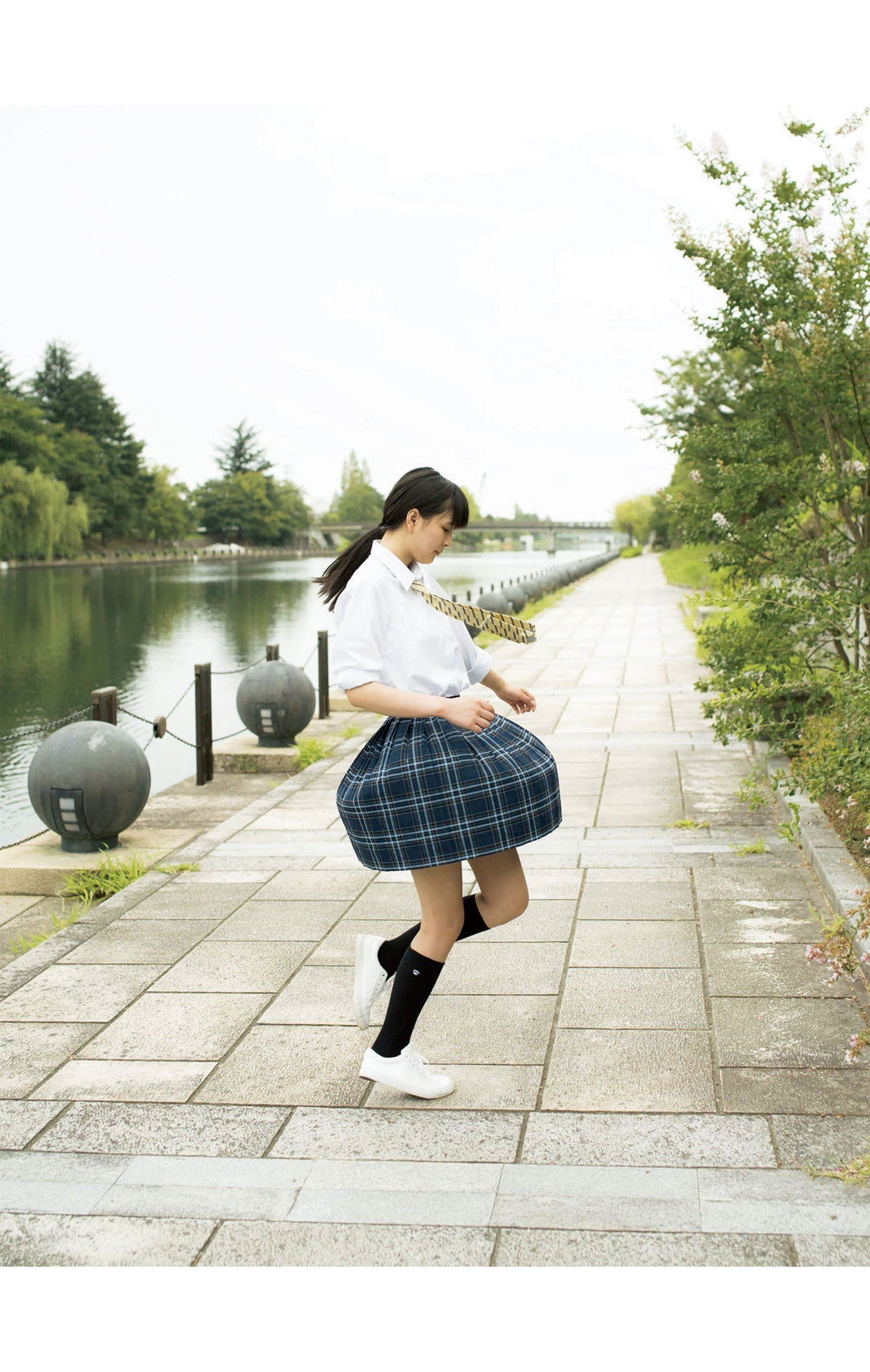 Summer Vacation Uniform After School Youth Bikini035