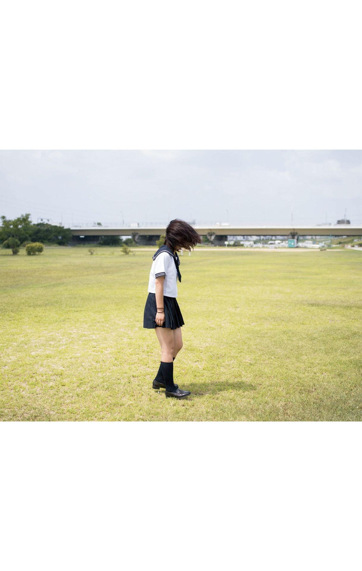 Summer Vacation Uniform After School Youth Bikini044