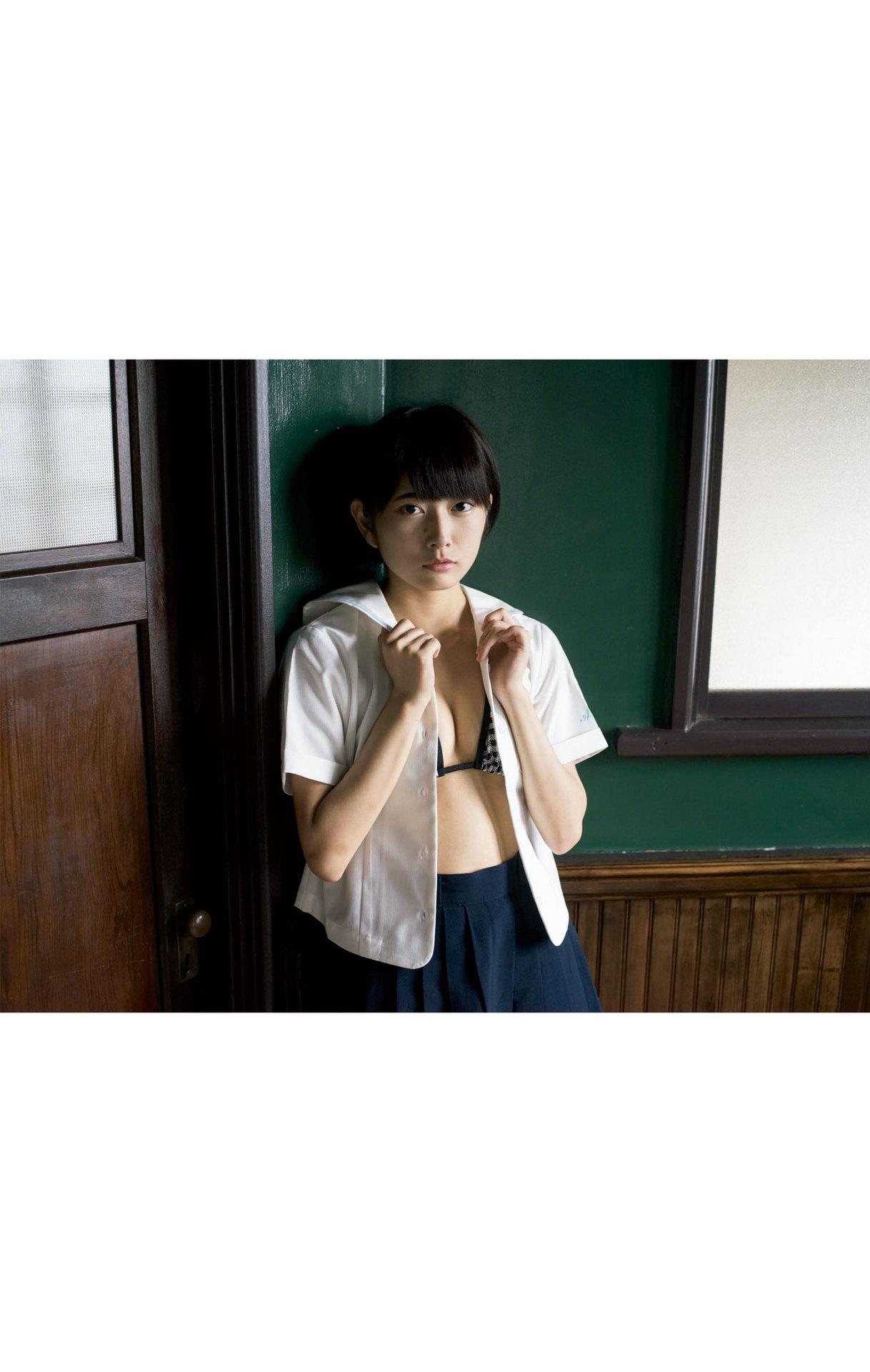 Summer Vacation Uniform After School Youth Bikini058