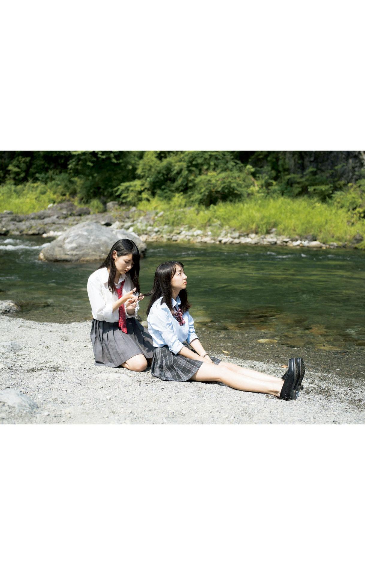 Summer Vacation Uniform After School Youth Bikini073