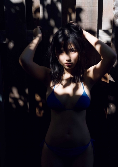 Aika Sawaguchi a 15-year-old high school freshman has a bouncy body in Hawaii027