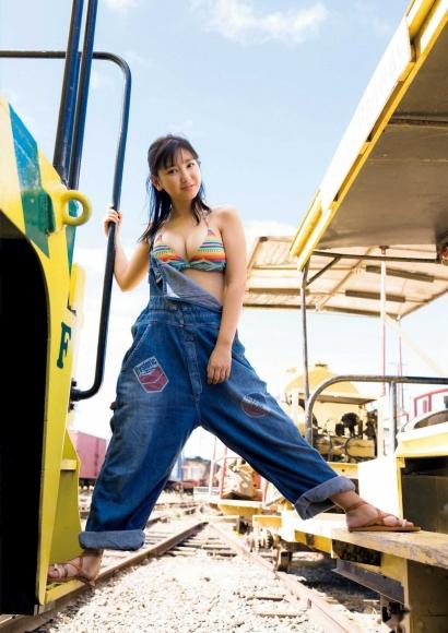 Aika Sawaguchi a 15-year-old high school freshman has a bouncy body in Hawaii033