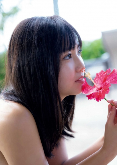 Aika Sawaguchi a 15-year-old high school freshman has a bouncy body in Hawaii047