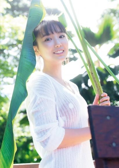 Aika Sawaguchi a 15-year-old high school freshman has a bouncy body in Hawaii053