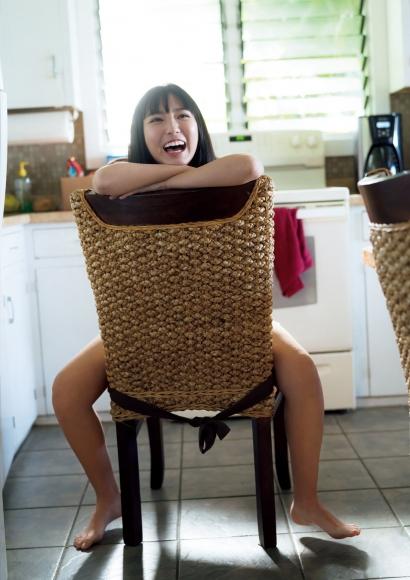 Aika Sawaguchi a 15-year-old high school freshman has a bouncy body in Hawaii060