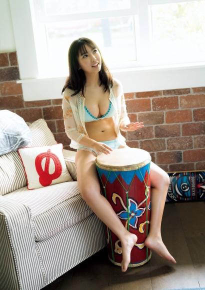 Aika Sawaguchi a 15-year-old high school freshman has a bouncy body in Hawaii083