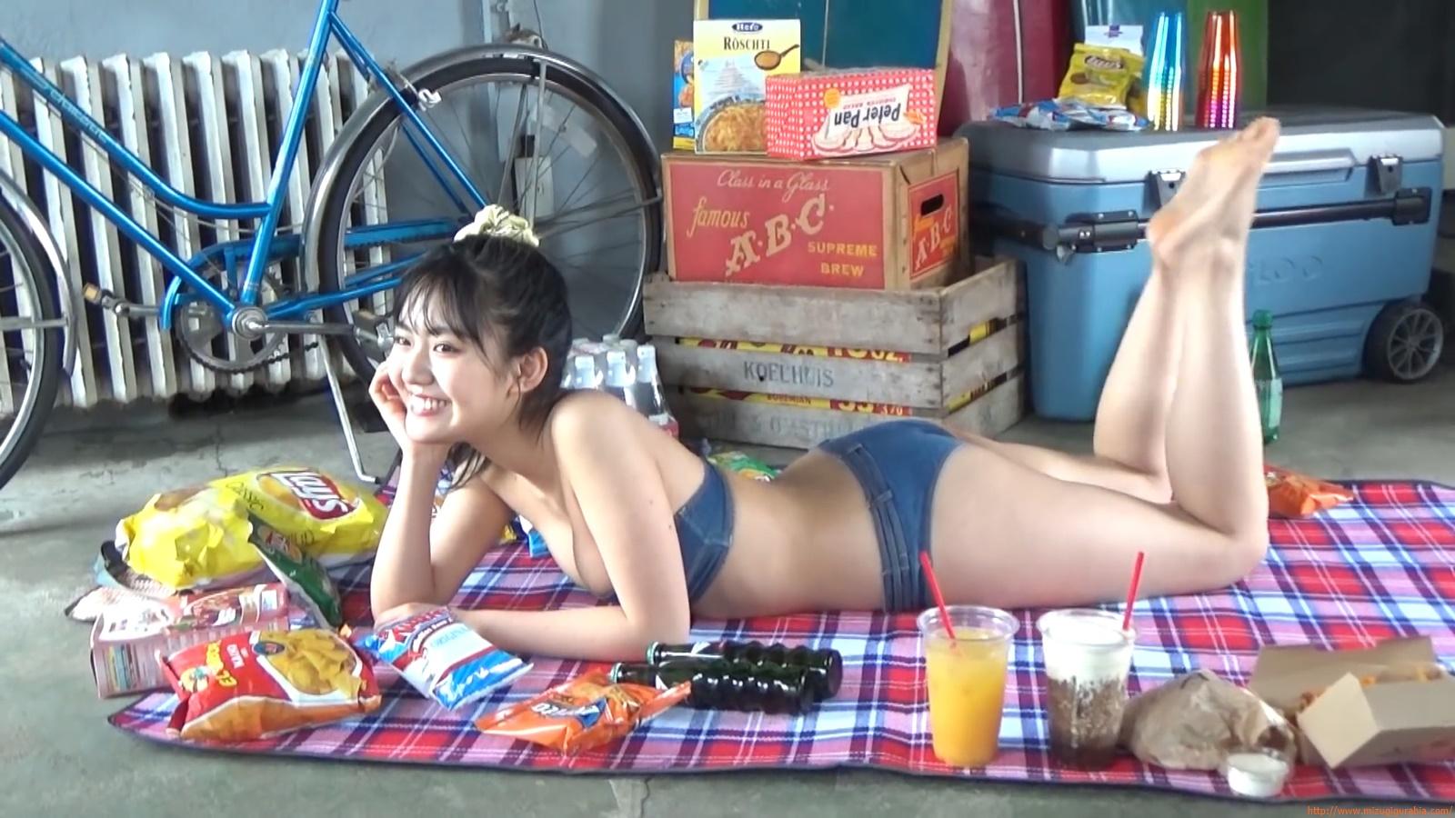 Lunar Toyota high school student Runas brain trip swimsuit gravure090