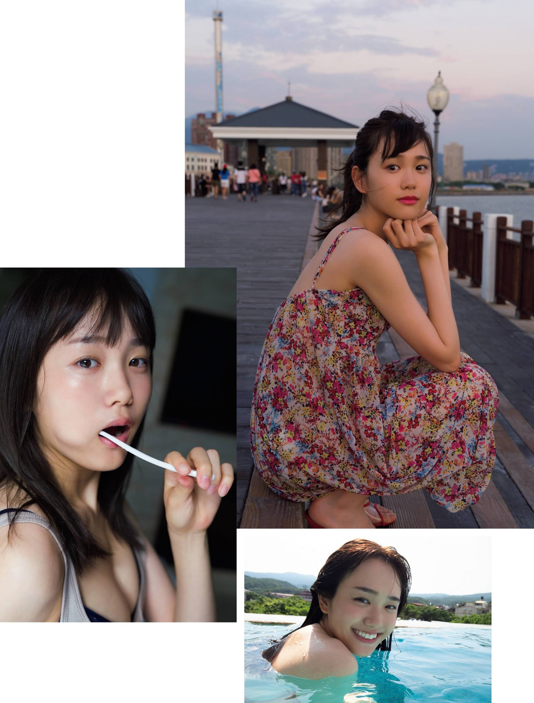 19 years old s perfect smile Hana Ozaki swimsuit gravure The next must breakout actress 2020002