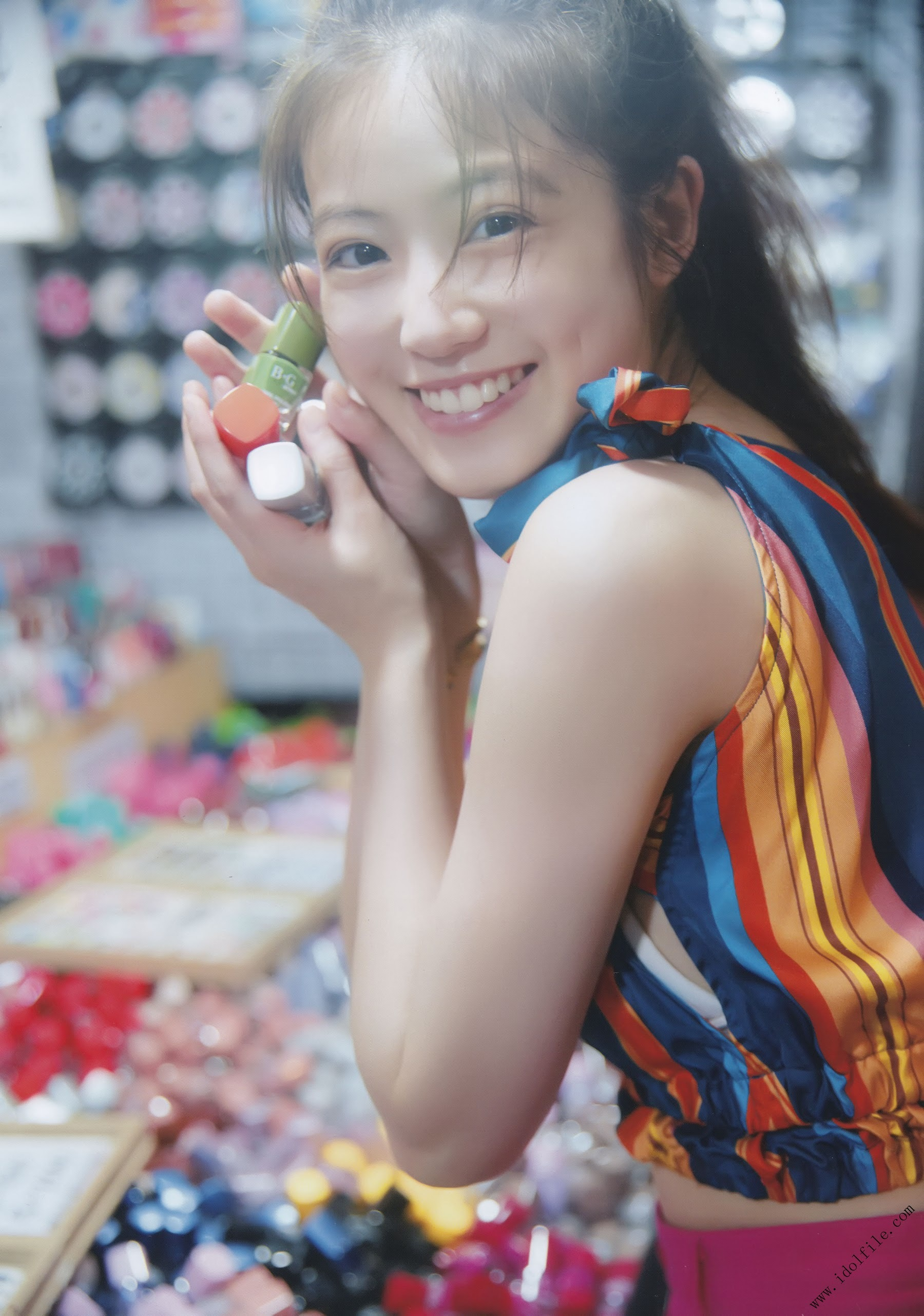 Pretty and beautiful, 22 years old and innocent Moving to the next stage as an actress Mio Imada128
