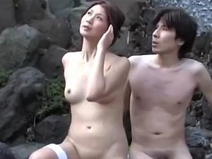 【ながえスタイル】[吉岡奈々子] 夫婦旅行で温泉へ行く四十路の美熟女な奥さんだが・・・酒にも酔って寝取られ不倫!
