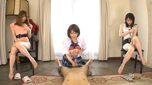大橋未久 夢の痴女3姉妹