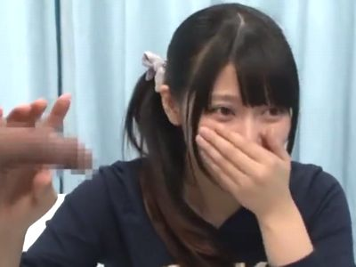 【MM号】『まだ我慢してください』可愛い美少女が早漏チンポ改善のため射精のお手伝いをするも即発射させるので挿入の荒療治!