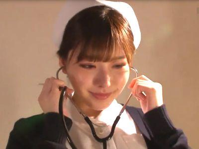 【深田えいみ】医者も患者もまとめて精子を搾り取る!普段は真面目な美少女看護師が強制騎乗位、強引なフェラで連続射精!